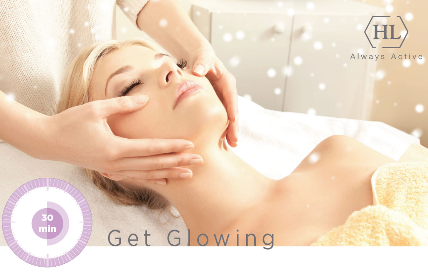 Get Glowing Express-Behandlung